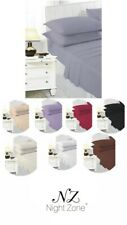 ''Night Zone 180 TC Percale 16inch Extra Deep Fitted sheets 11 Lovely Colours''
