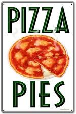 Vintage Retro Pizza Pies Italian Food  Metal Sign Shop Diner Restaurant RPC