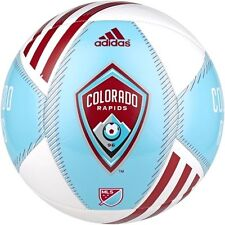adidas 2015 MLS Capitano Colorado Rapids Soccer Ball Turquoise / Maroon / White