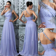 New Long Wedding Formal Evening Cocktail Ball Gown Party Prom Bridesmaid Dress