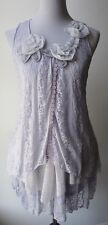 Pretty Angel Vintage Victorian Light Purple Dress-Lacy layers & romantic ruffles