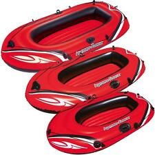 INFLATABLE BOAT SUMMER DINGHY BEACH SEA RIVER POOL ROWING RAFT BOAT KAYAK CANOE