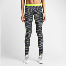 Nike Pro Core Bolt Print Women's Girls Compression Tights Fitness Style: 684665