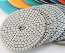 Diamond Polishing Pads 4 inch Wet or Dry Granite Tile Marble Concrete Stone AAA
