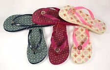 Tory Burch Thin Printed Flip Flops Shoes - 3 Colors