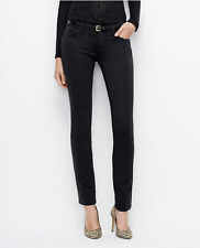 Ann Taylor - Petite's Black or Blue Chic Knit Slim Ponte Pants $89.00