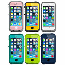 New Colors! Authentic LifeProof Fre iPhone 5/5S Waterproof Case WORKS W TOUCH ID
