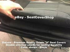 PREMIUM Full Set Seat Covers Airbag Safe 8mm Quality Double Stitched Fabric 2D