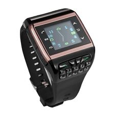 Unlocked Touch Screen GSM Dual SIM Camera Alarm Wrist Watch Mobile Cell Phone Q9