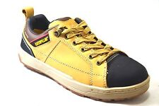 "Caterpillar Brode St Life Style 4"" Mens Honey Reset Lace Up Work Sneakers P90377"