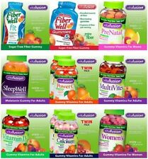 New - vitafusion Gummy Vitamins - Fresh - Value - Complete Product Line-up
