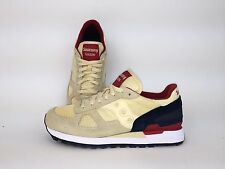 Saucony Men Shadow Original Cream, Navy S2108-581