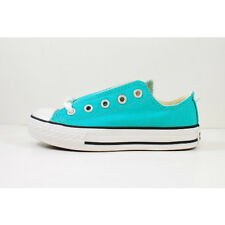 Converse All Star Chuck Taylor Ox Low Top 3X869 Blue Turquoise Youth/Kids Shoes