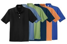 Men's Big and Tall Size Assorted Polo Shirts in Lots of 2 - Mixed Colors