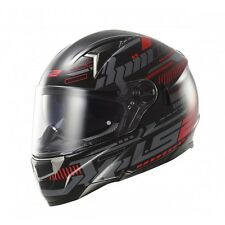NEW LS2 FF396 FT2 TRON BLACK RED HELMET FREE DELIVERY