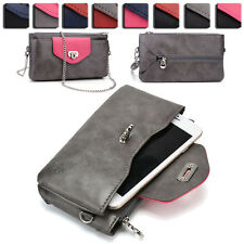 Womens Fashion Wallet Case Cover & Crossbody Purse for Smart Cell Phones EI64-3