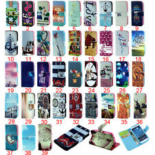 Cute Pouch Wallet  Soft TPU Holder PU Leather Cover Case For Samsung Phones