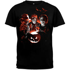 Halloween Freddy Krueger Jason Voorhees Michael Myers T shirt  Glows Limited Ed.