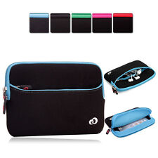 KroO Washable Soft Protective Zipper Sleeve Cover fits 7 inch Tablets MIG2-3