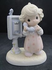 """PRECIOUS MOMENTS """"LORD PLEASE DON'T PUT ME ON HOLD"""" - #PM-982 - NEW IN BOX"""