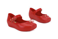 Melissa Mini Ballet SP 31465 50675 New Toddler Baby Infant Red Mary Janes Shoes