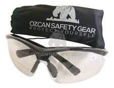 12 Prs Bifocal Safety Glasses Clear Lens Readers Wholesale Magnifier +1.50 +2.00