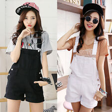 Fashion Casual Women Girls Denim Shorts Pants Jean Jumpsuits Rompers Overall