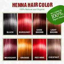 Henna Hair Dye - 100% Organic and Chemical free Henna for Hair
