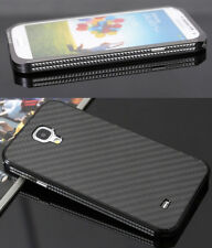 Luxury Metal Aluminum Carbon Fiber Case Cover For Galaxy S5 S4 S3 Note 4 Note3 2