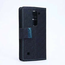 Colors wallet leather case cover / Card Holder for LG Spirit 4G LTE H440N a