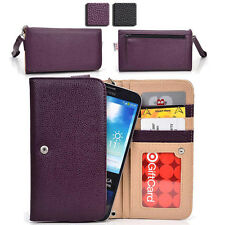 KroO ESX62 Multi-Function Protective Wallet Case Clutch Cover for Smart-Phones