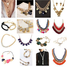 La Mode  Bib Femmes Collier Surdimensionné Bijoux Partie Collier Chunky Necklace