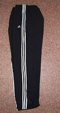 Mens Adidas Tracksuit Bottoms Trousers Black L or XL W38-40-42 BNWT
