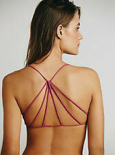 NEW Free People Intimately Seamless Rose Strappy Back Bra Sz XS/S-M/L $30