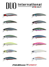 DUO Tide Minnow 75 Sprint Sinking Lure - Select Color(s)