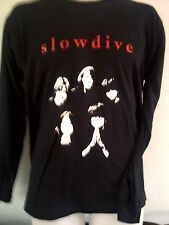 SLOWDIVE LONG SLEEVED SHIRT shoegaze teenage fanclub ride  ALL SIZES