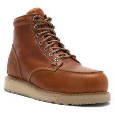 Timberland Men's PRO Barstow Wedge Moc Alloy Toe Boots Rust TB088559214