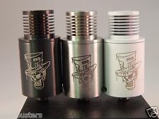 MAD HATTER Style Atomizer Clone by SXK  RDA RBA Atty Black White SS and Copper