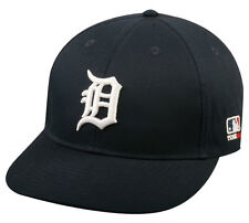 MLB DETROIT TIGERS Baseball HOME CAP Navy Blue HAT Velcro STRAP, YOUTH, ADULT
