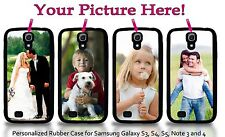 Personalized Samsung Galaxy S3 S4 S5 Note 3 4 Custom Photo Picture Case