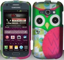 GREEN OWL Snap-On Hard Cover for Samsung Galaxy Ring / Prevail 2 II SPH-M840