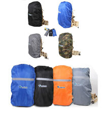 Rucksack Rain Dust Waterproof Bag Backpack Travel Camping Poncho Dry Cover S/M/L