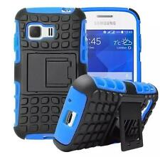 Mix Hard Soft Rubber Cover Case For Samsung Galaxy Young 2 Duos SM-G130H 4colors