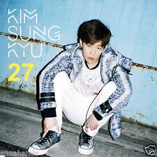 Kim Sung Kyu of Infinite - 27 (2nd Mini Album) CD +Photocard+Poster K-pop