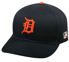 MLB DETROIT TIGERS Baseball ROAD CAP Navy Blue HAT Velcro STRAP, YOUTH, ADULT