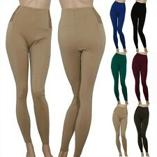 IRON PUPPY Plus Size Elastic High Waist Skinny Ponte Pants Stretch Leggings