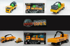 Affluent Town 1:64 Diecast Man Suspended Tow Truck Recycling / Industrial Model