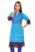 Aawari Casual Hand Embroidered  Cotton Kurti