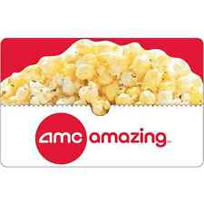 AMC Theatres Gift Card $25 $50 $100 - mail delivery