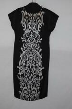 cocomo womens plus size printed cap sleeve knit dress Black 2x and 3x available